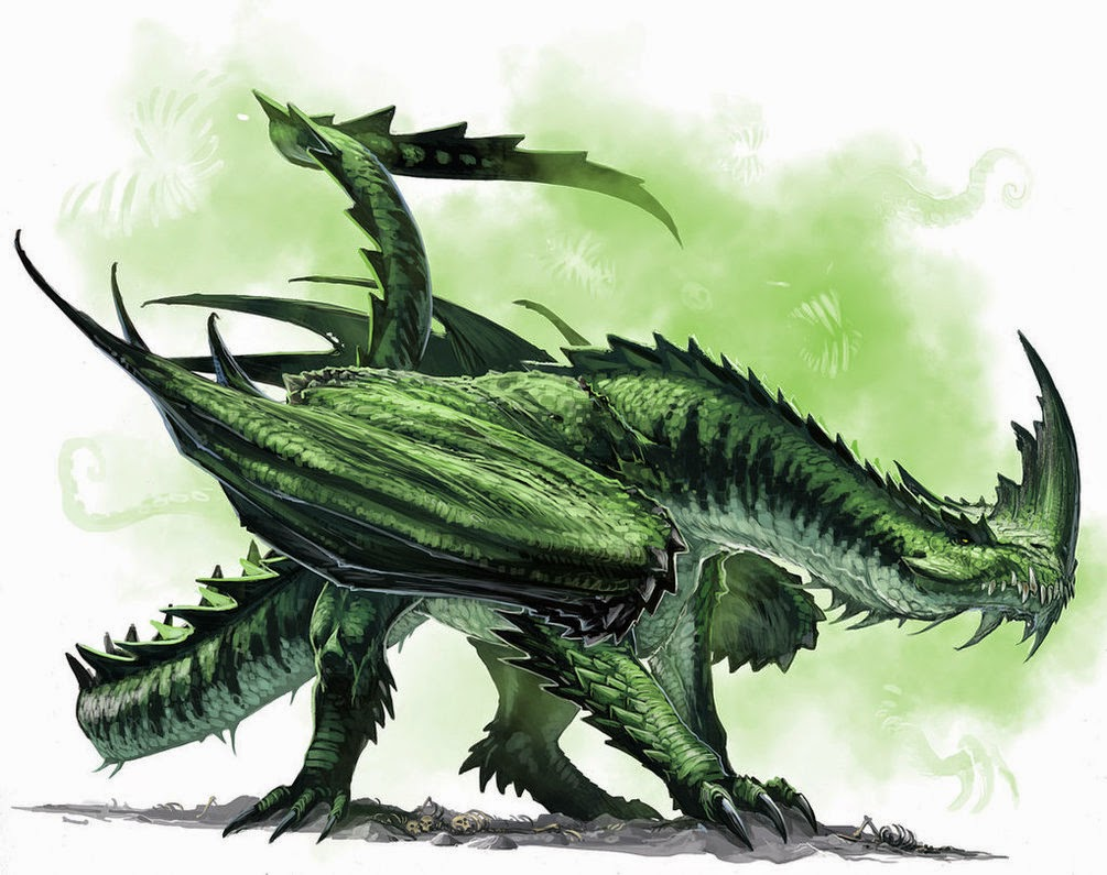 Dragon Art from Deviantart