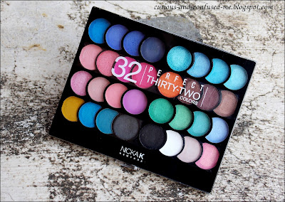 Nicka K New York Perfect 32 Colors Eye Shadow Palette, Nicka K New York Perfect 32 Colors Eye Shadow Palette review, Nicka K New York Perfect 32 Colors Eye Shadow Palette swatches, Nicka K New York 32 Colors Eye Shadow Palette review, Nicka K 32 Colors Eye Shadow Palette review, Nicka K Eye Shadow Palette review swatches, Nick K eyeshadow, Dusky blogger