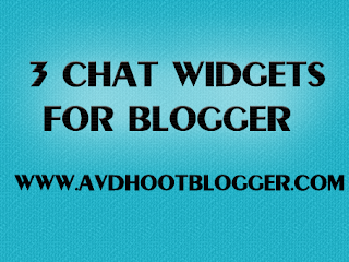3 Chat Widget For Blogger