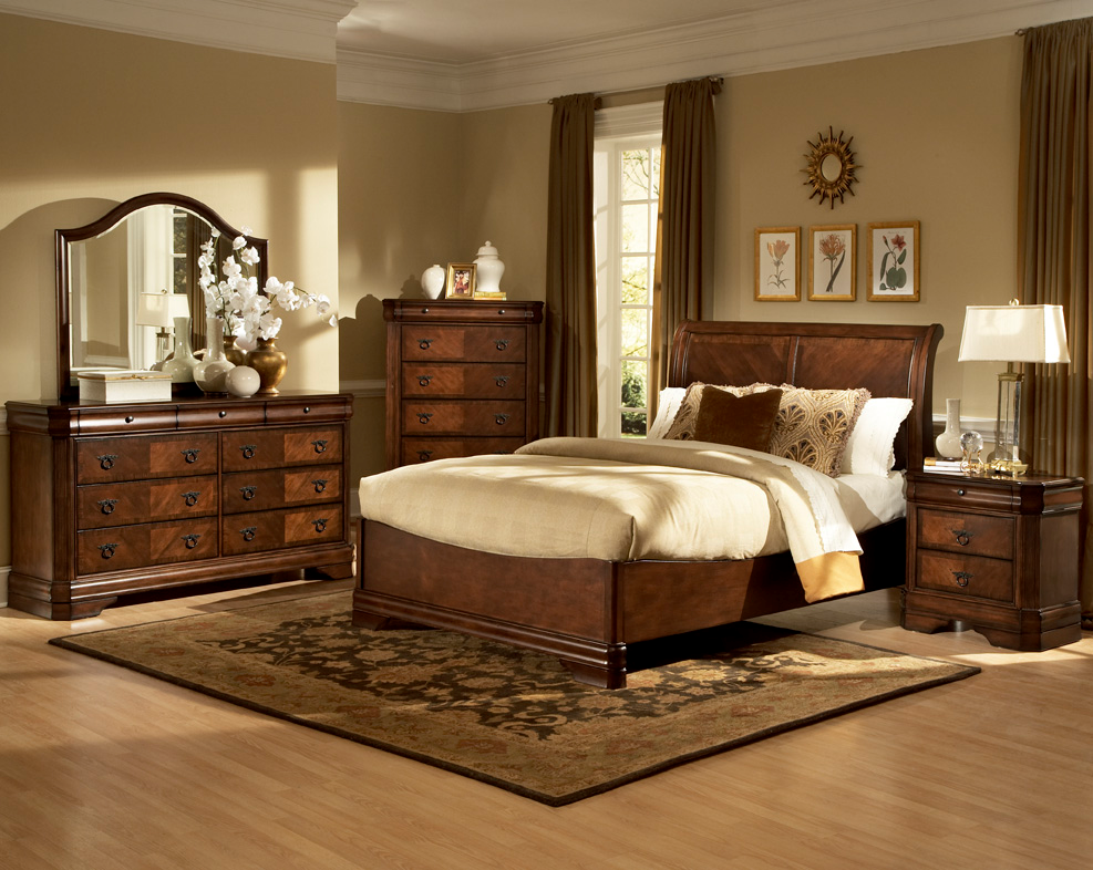 Bedroom furniture new classic bedroom for Classic design furniture