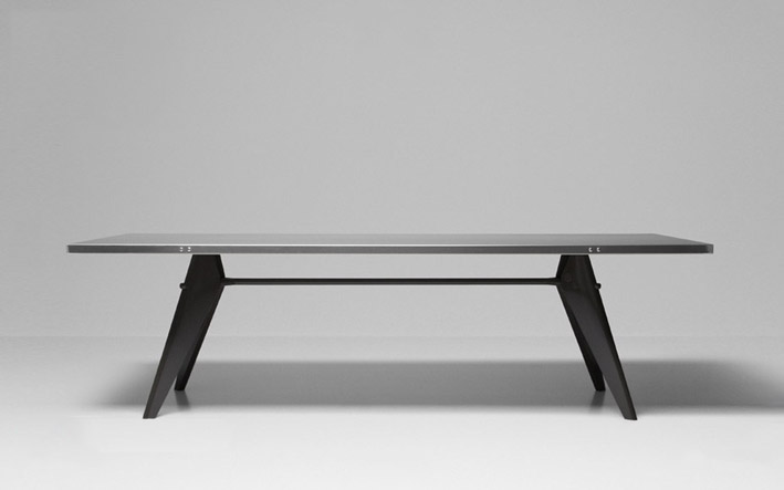 Warehouse 318 prouv raw by g star for vitra - Table basse jean prouve ...