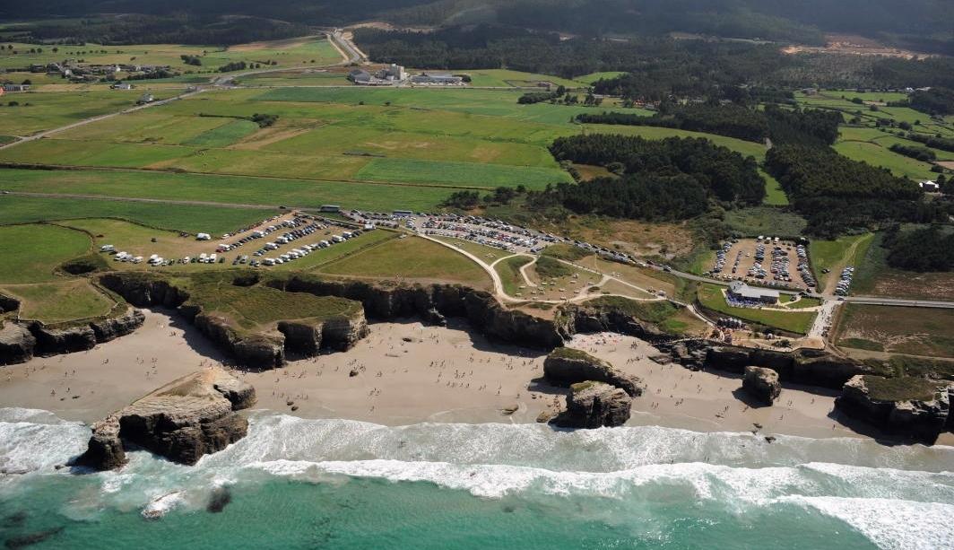 playa de las catedrales situacion