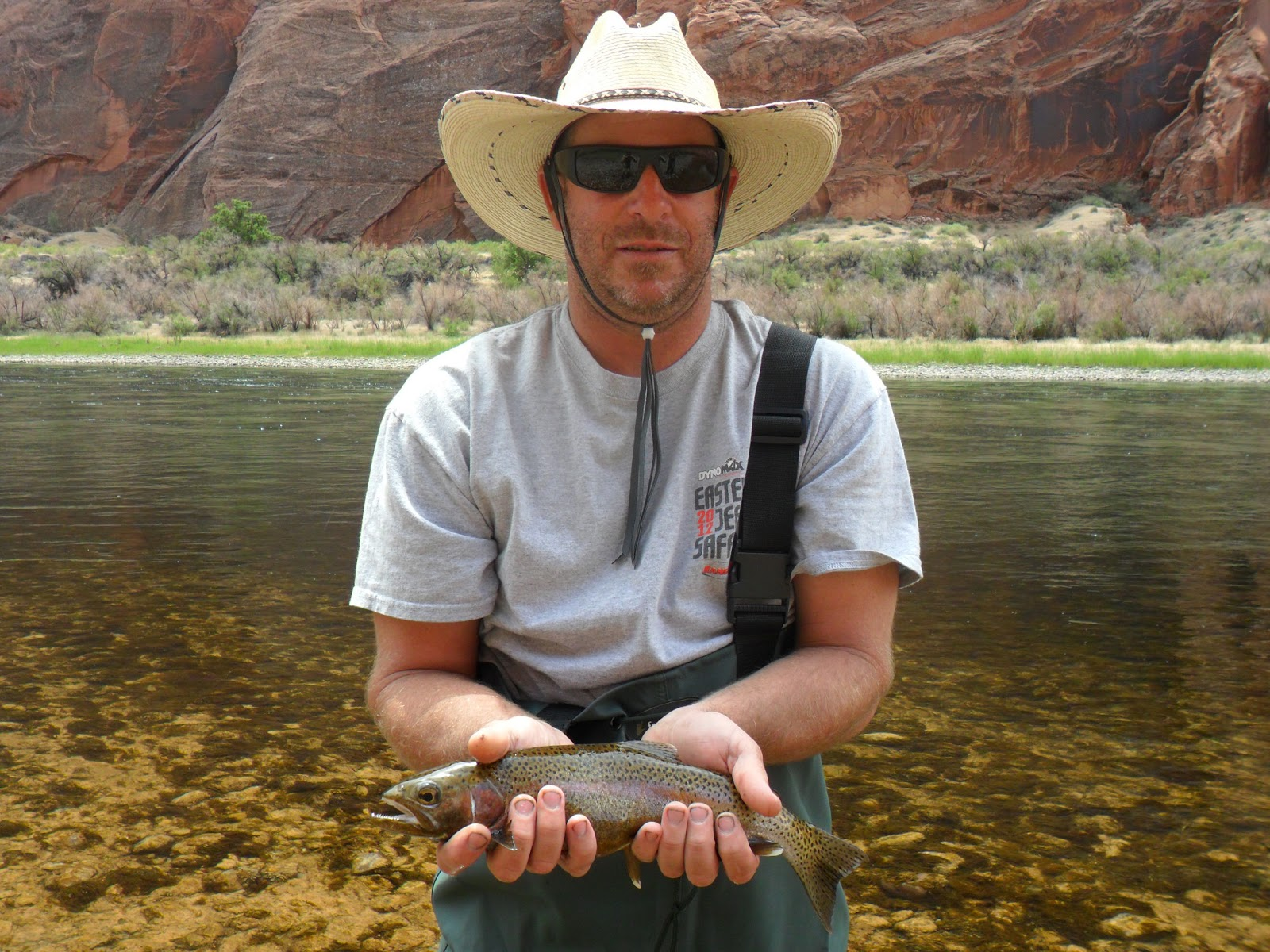 Lees ferry fishing report lees ferry az may 2013 for Fishing report az