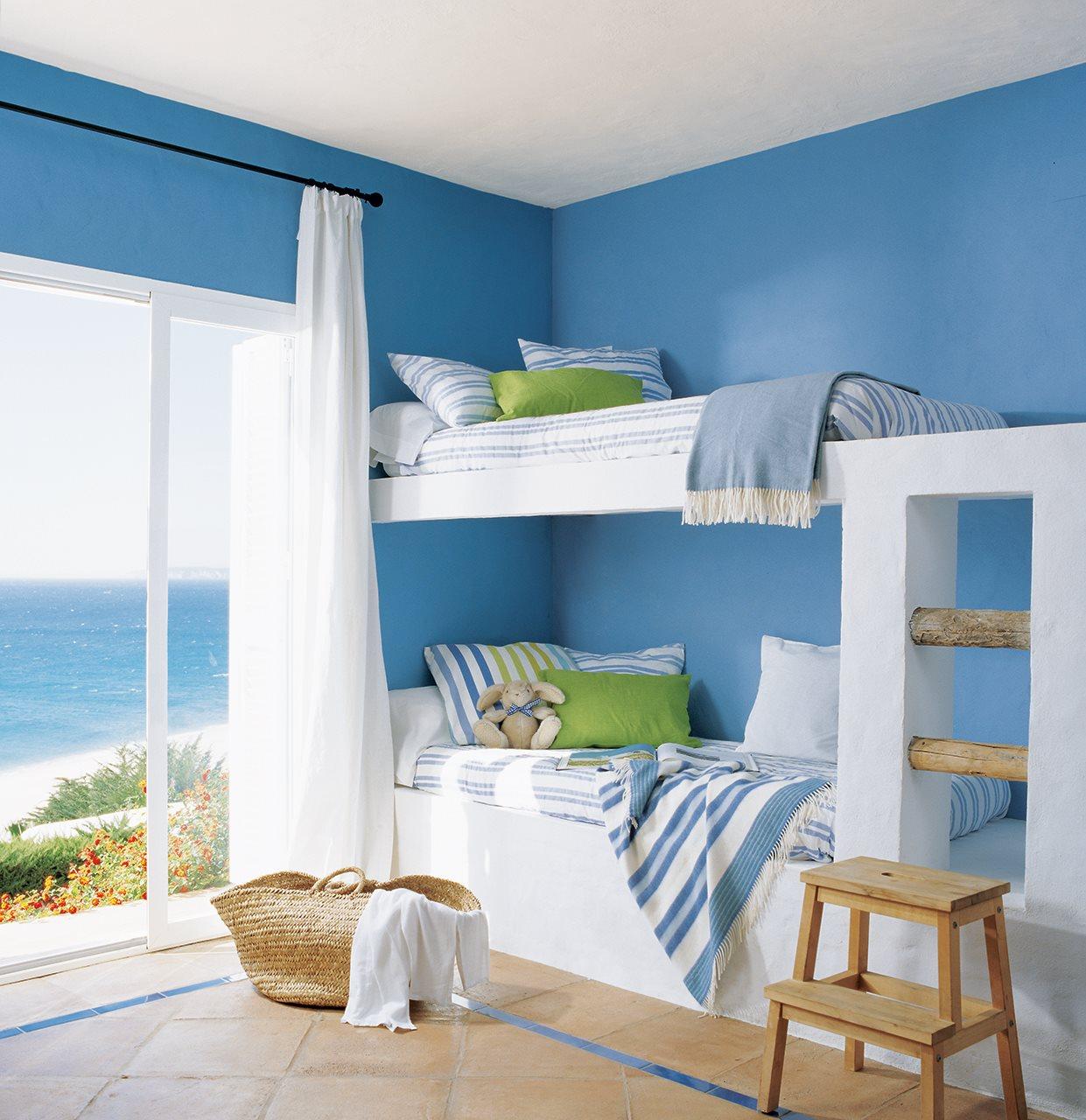 Detalhes do c u azul a cor mais quente - Tonos de azul para pintar paredes ...