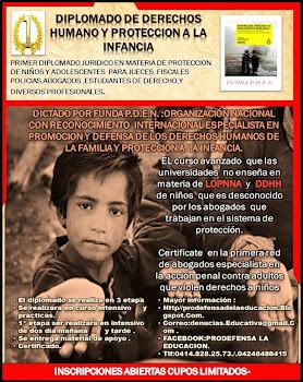 DIPLOMADO DE DERECHOS HUMANOS EN PROTECCIÓN A LA INFANCIA