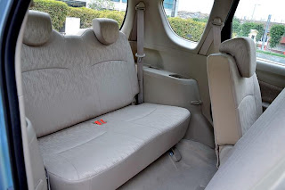 new maruti ertiga rear seating