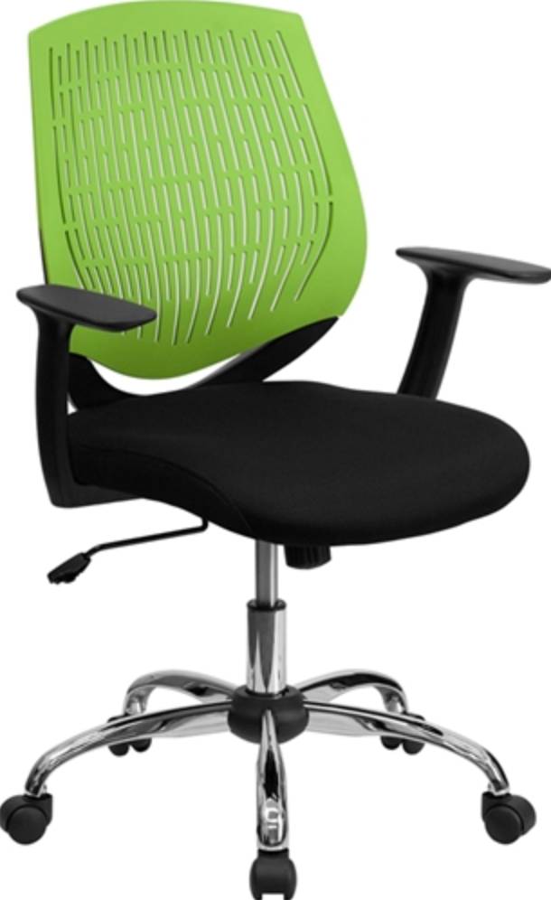 colorful chairs to brighten up the workplace