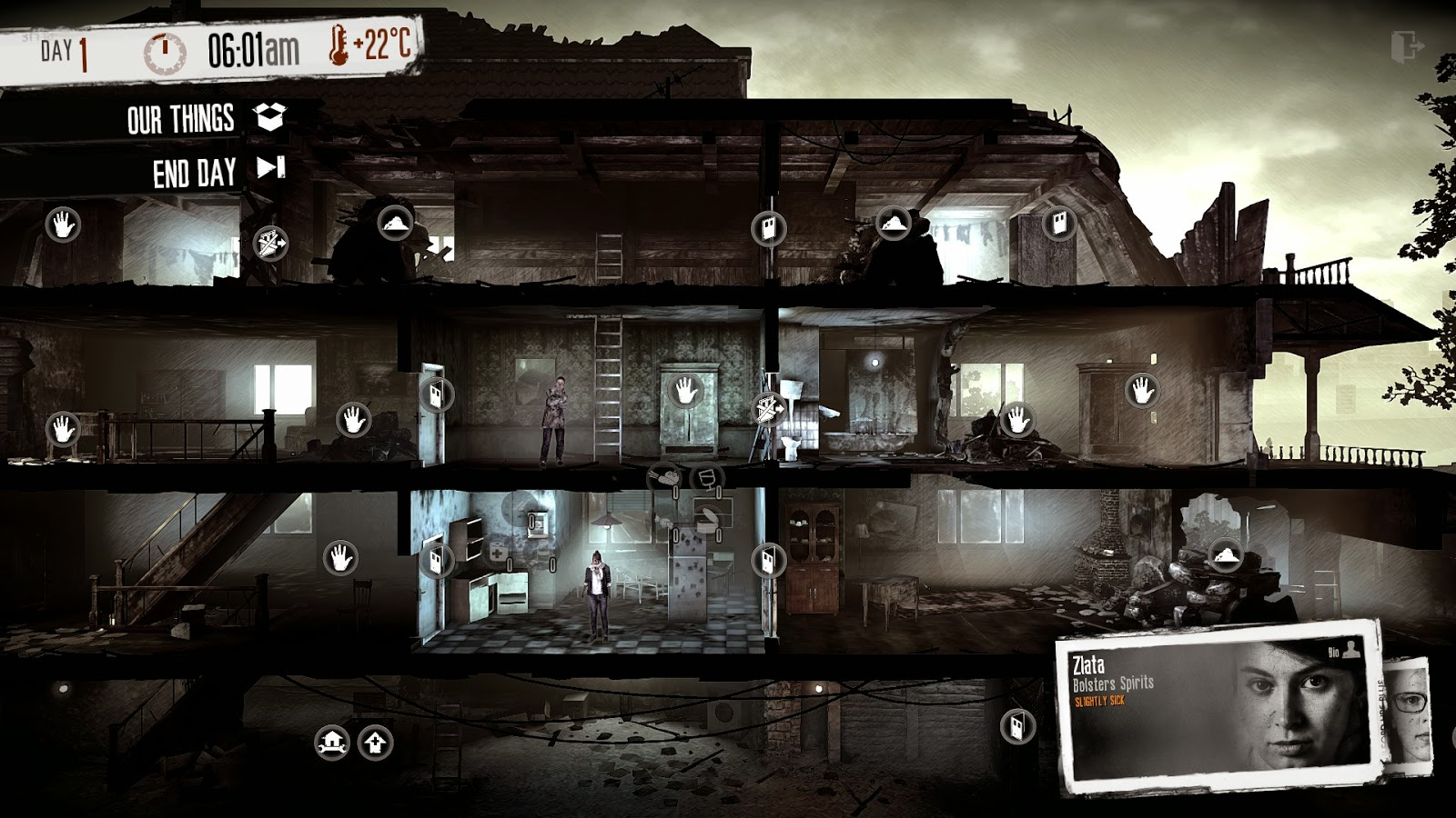 This War Of Mine screenshot house