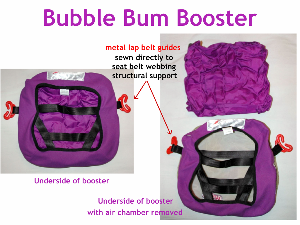 The Bubble Bum Is More Than Just An Air Chamber There Memory Foam Inside Which Allows For Even Distribution Of Under Childs