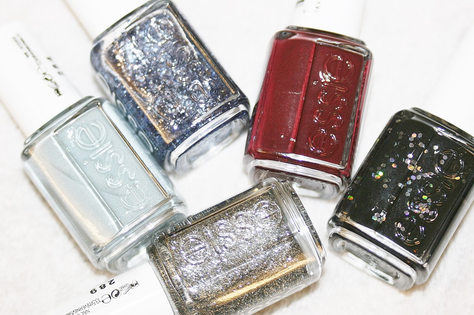 Winter essie nail polishes