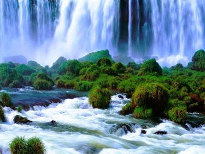 Gambar Pemandangan Alam Air Terjun Tercantik Di Dunia 1700