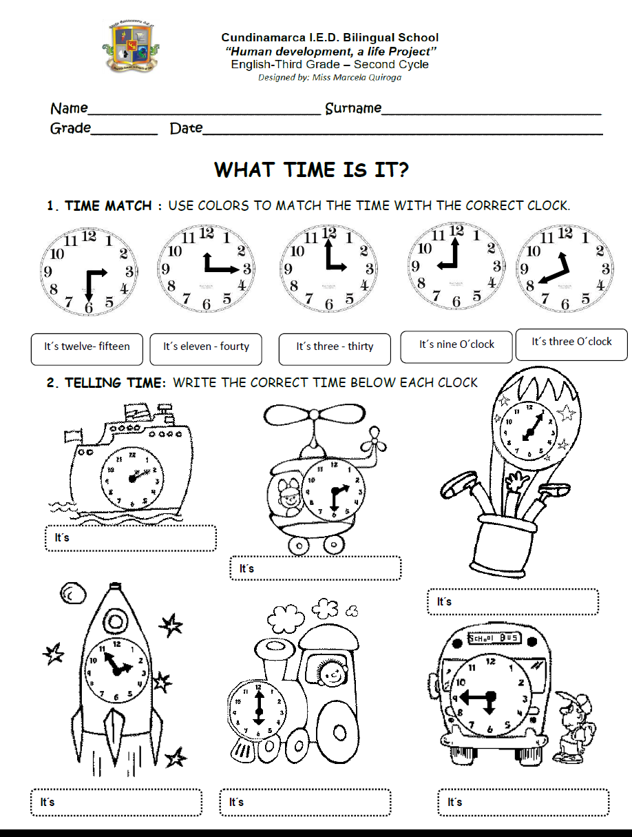 English Fourth Graders Zone MEALS TIME WORKSHEET – Time Zone Worksheet