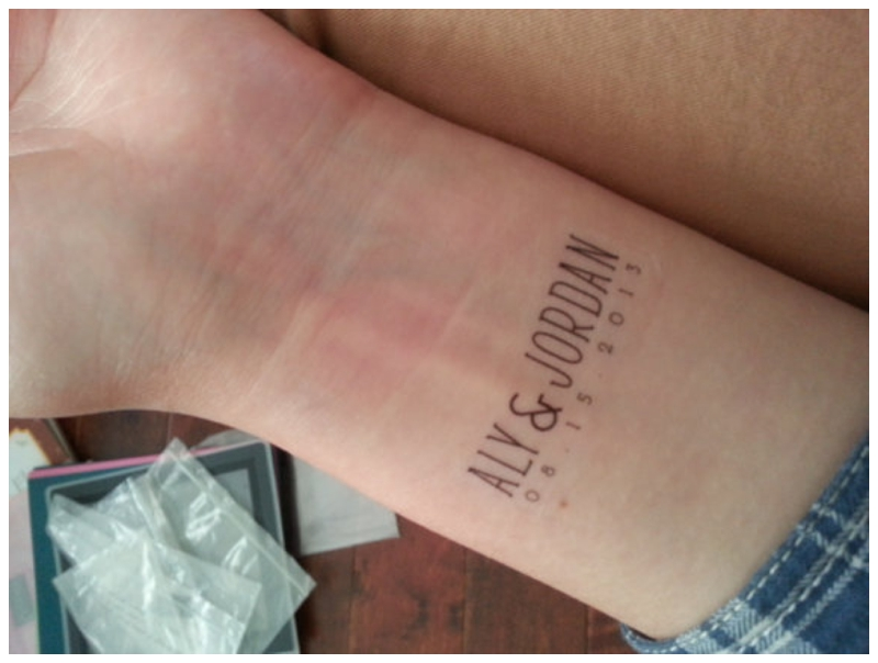 Temporary Tattoos Wedding Favors Image collections - Wedding ...