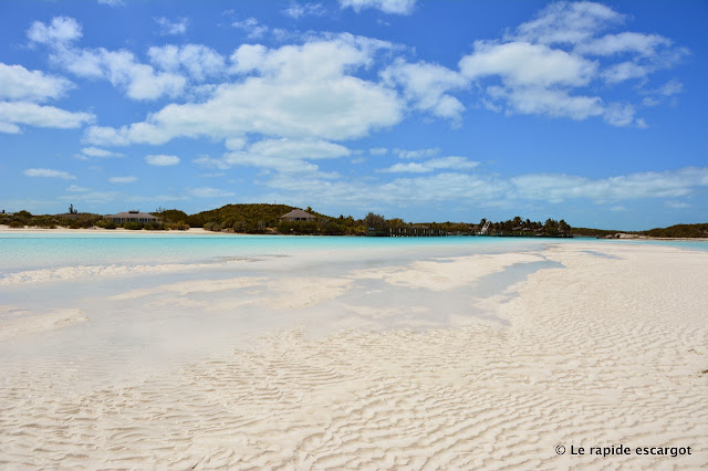 Near Sampson Cay