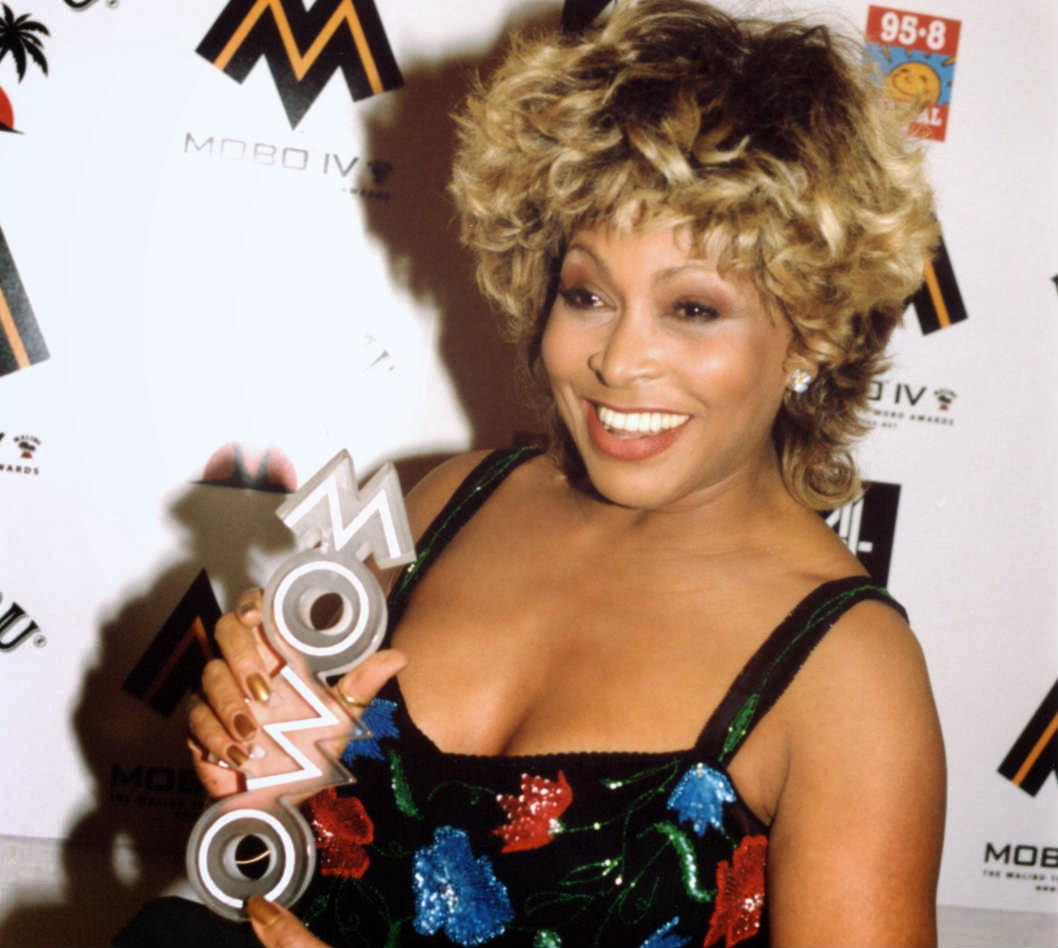 Tina turner has rarely been seen in public without a wig, and many ...
