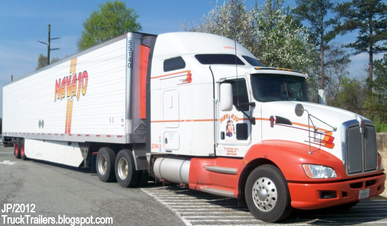 TRUCK TRAILER Trucking Express Co Logistic Diesel Image Mack