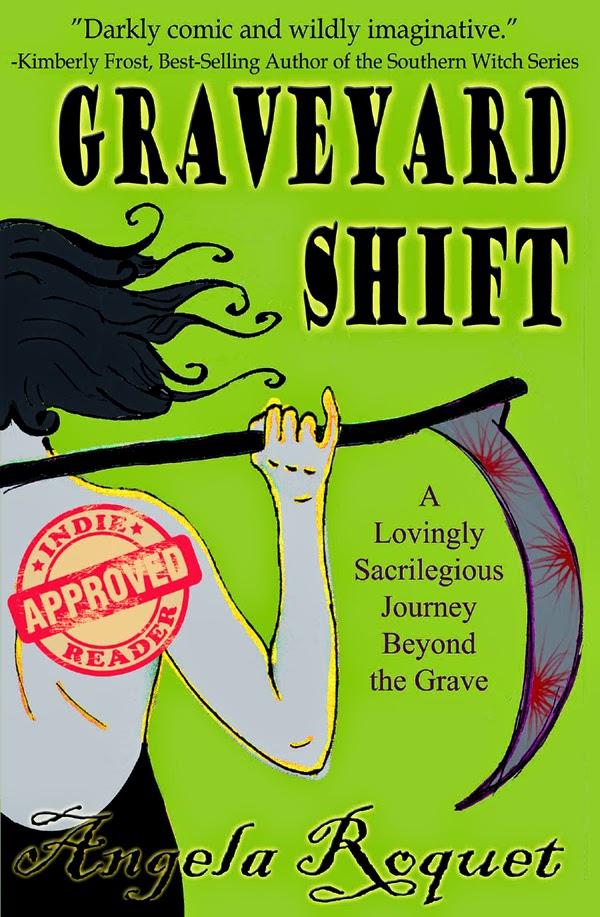 http://www.amazon.com/Graveyard-Shift-Lana-Harvey-Reapers-ebook/dp/B009M0ARH0/ref=sr_1_6?s=digital-text&ie=UTF8&qid=1413778974&sr=1-6&keywords=angela+roquet
