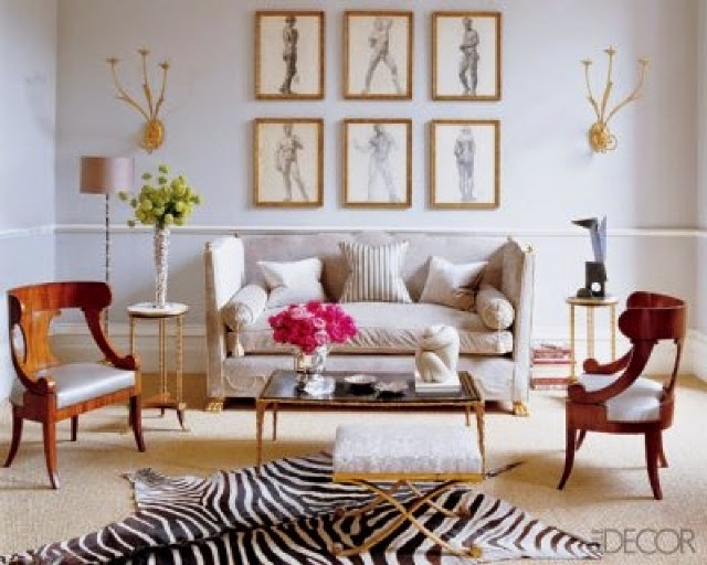 zebra living room decorating ideas
