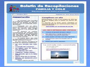 Boletín de Recopilaciones FAMILIA y COLE 2