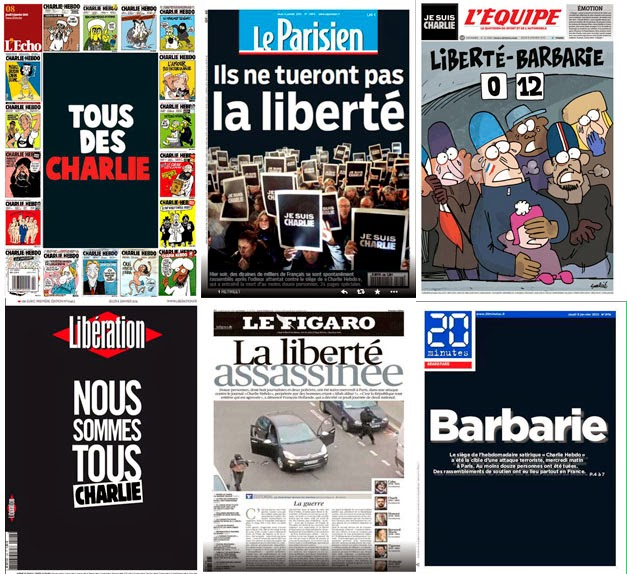 L'Echo, Le Parisien, L'Équipe, Libération, Le Figaro y 20 minutos.