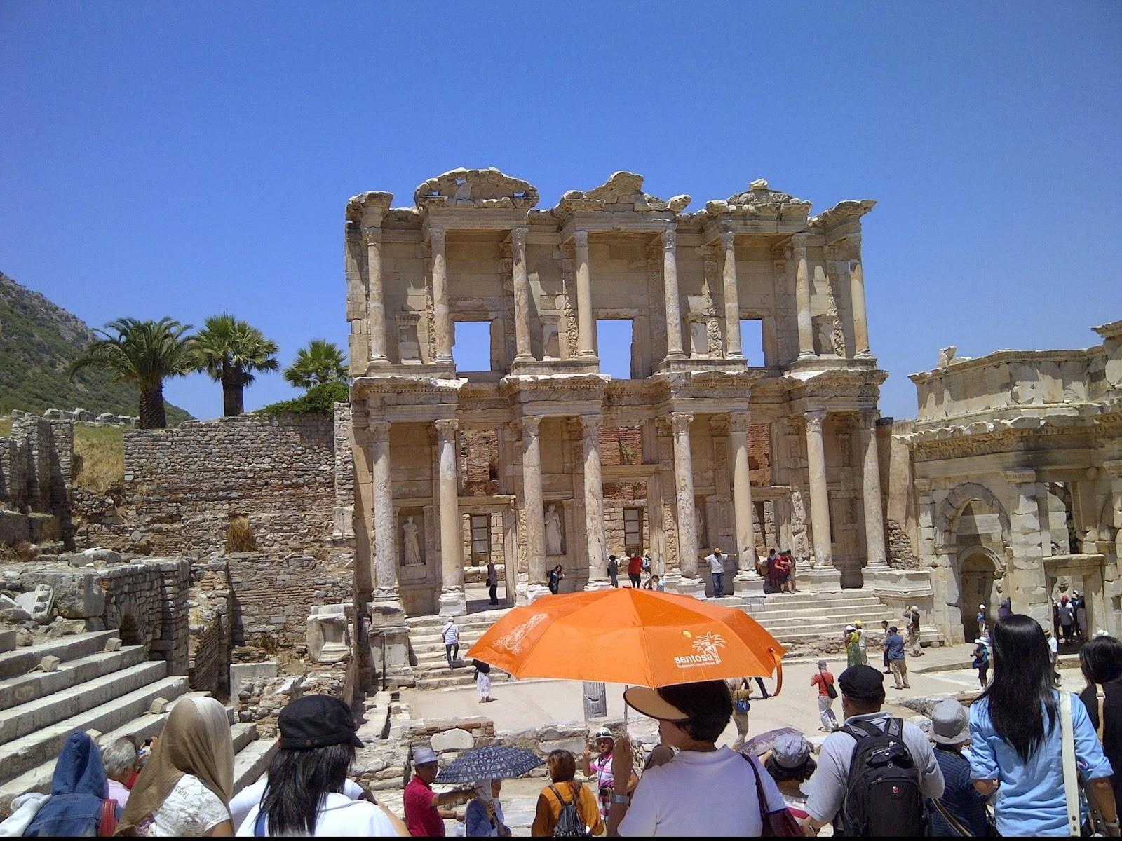 Kota Indah Yunani Kuno Ephesos