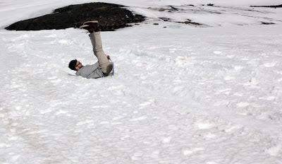 Iceland sledging
