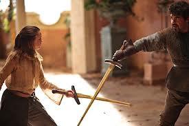 Arya duelo Syrio - Juego de Tronos en los siete reinos