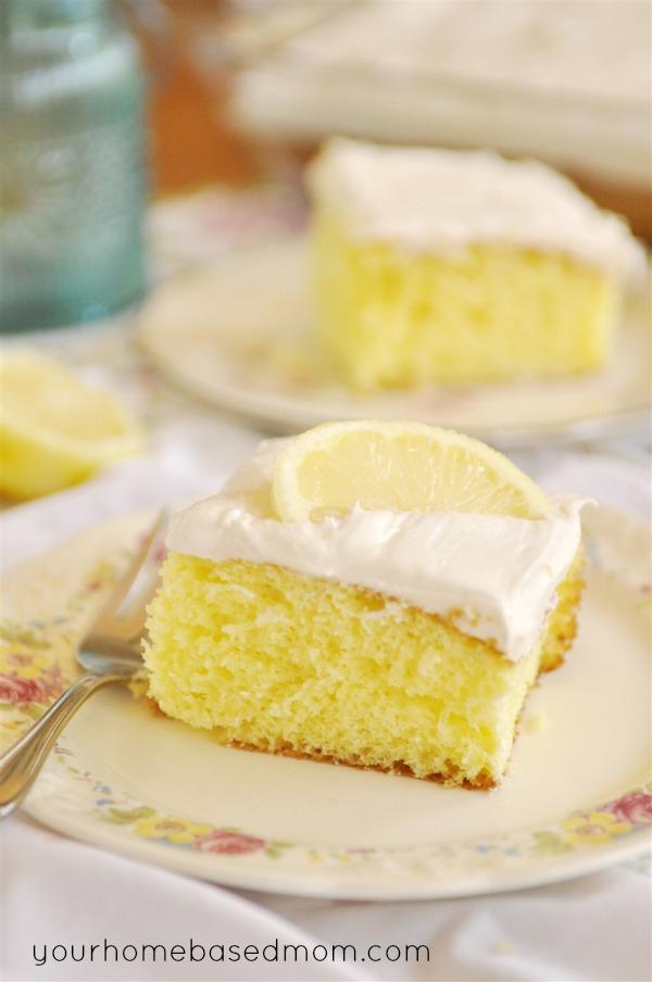 lemon cake using yellow cake mix
