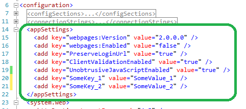 Read AppSettings Values from Web.config in MVC