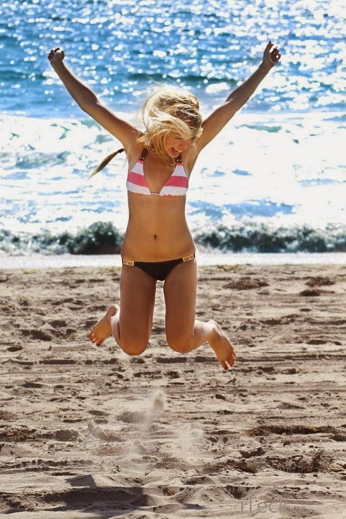 zuma beach jumping