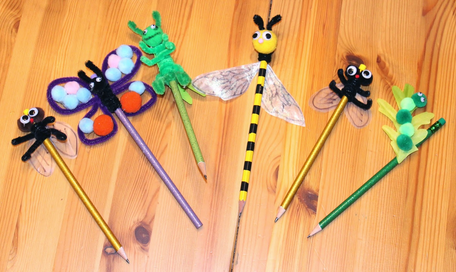 Delightful Creative Arts And Crafts Ideas For Kids Part - 12: Pencil Craft Ideas For Kids
