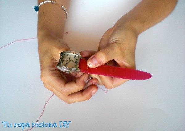 coser o pegar