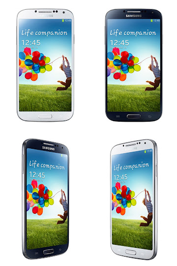 Samsung Galaxy S4 White Frost and Black Mist