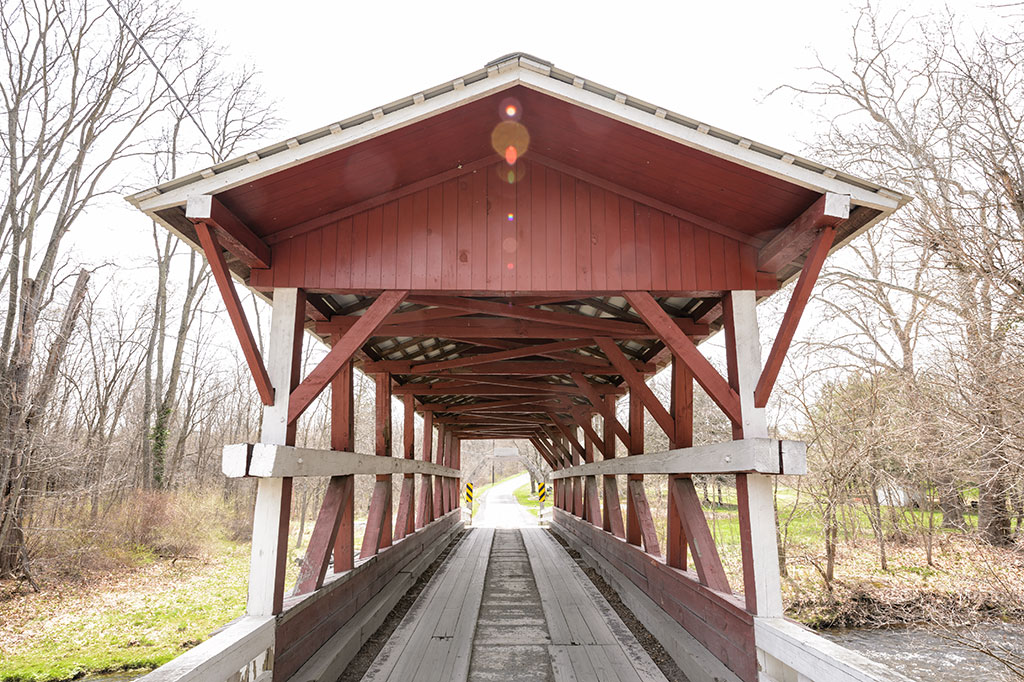 Colvin Covered Bridge - Bedford County, PA
