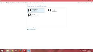 Akun User Windows 8