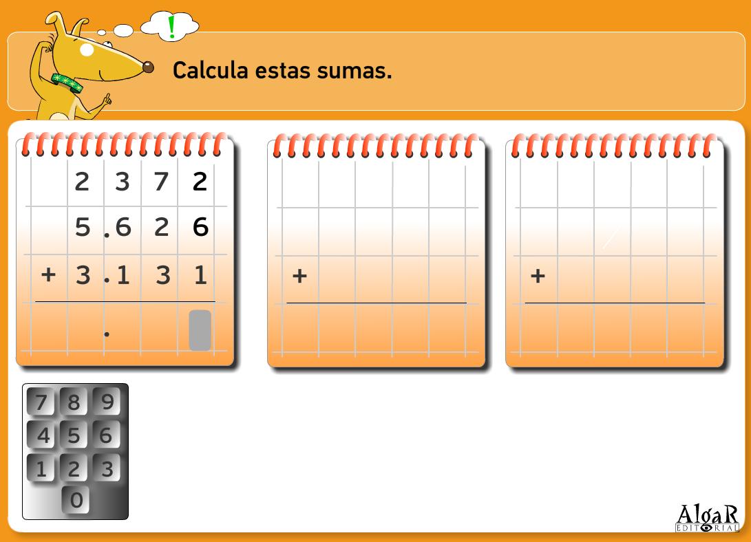 http://www.primerodecarlos.com/TERCERO_PRIMARIA/archivos/actividades_capicua_tercero/2/operaciones_directas.swf