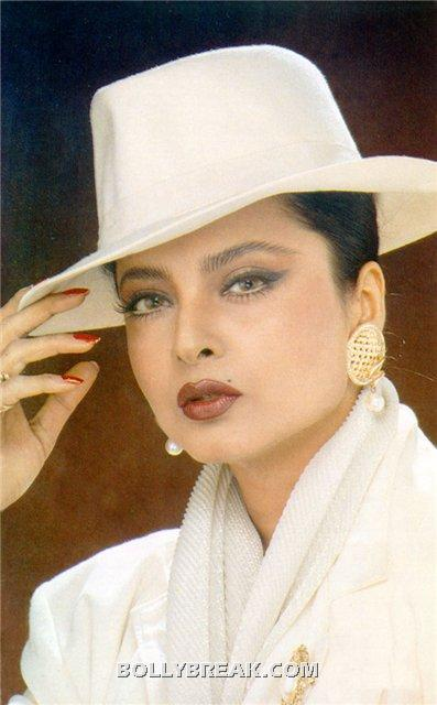 rekha hot tamil pic white cap - (14) - Rekha Hot Pics - 1980's 1970's Rekha Photo Gallery