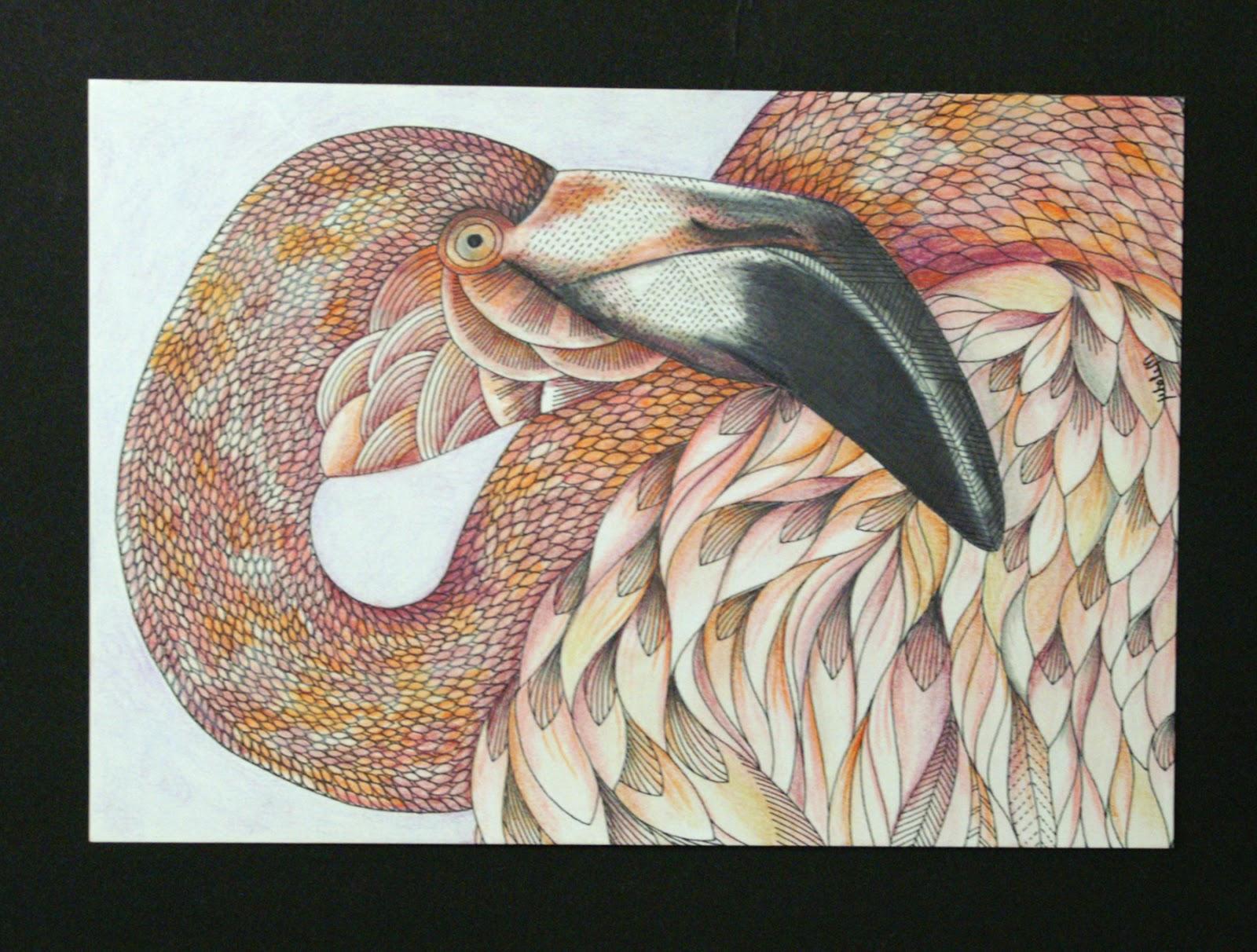 Animal Kingdom Colouring Book Finished Ben Franklin Crafts And Frame Adult