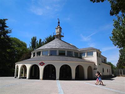 Estación de Metro de Lago de Madrid