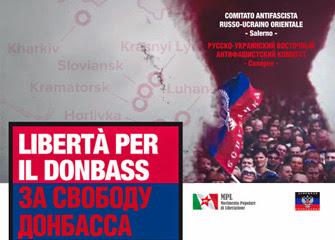 Salerno 7 dicembre: Manifestazione per il Donbass