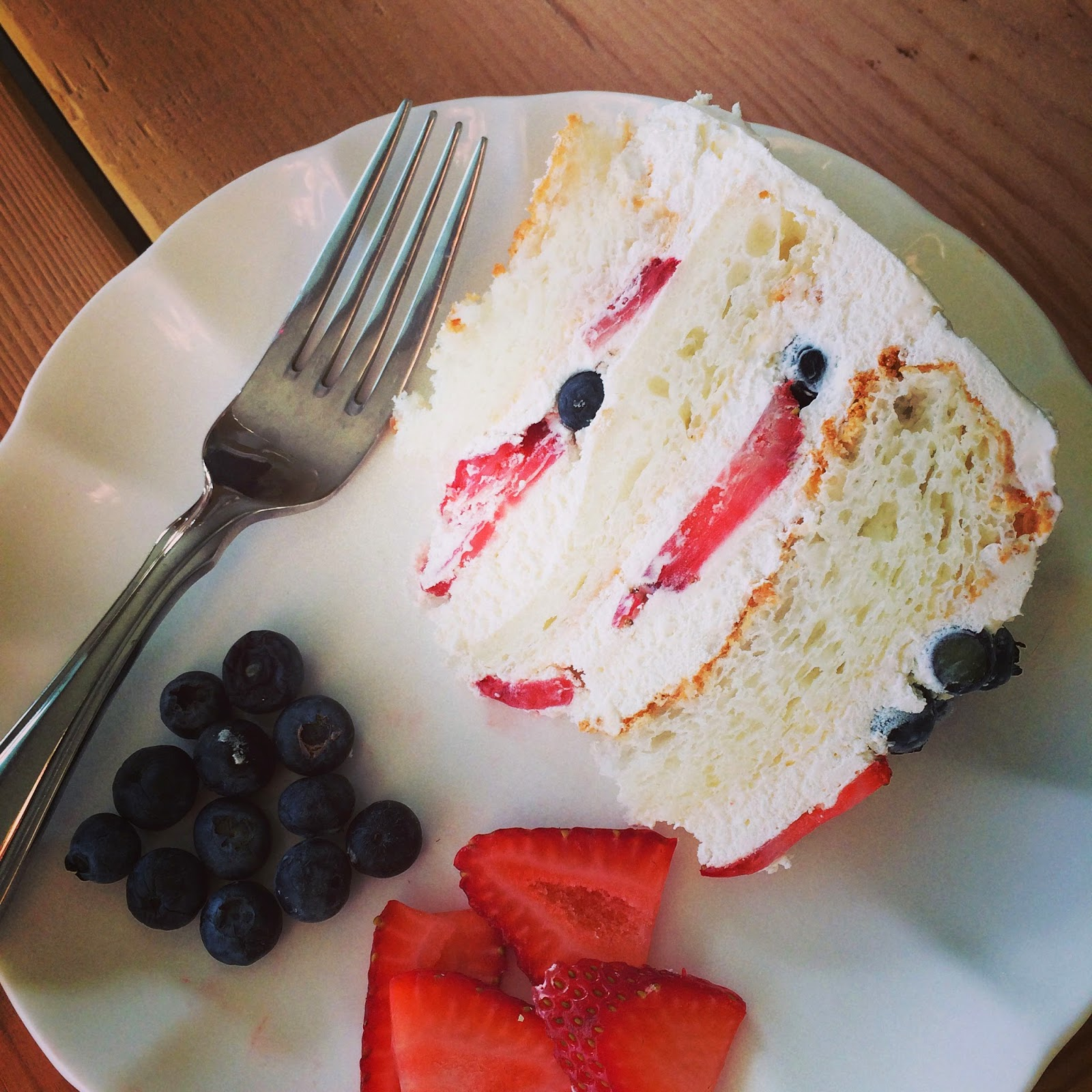 Box of angel food cake (or, follow this recipe if you are feeling ...