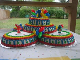 Amazing Sesame Street Birthday Cake