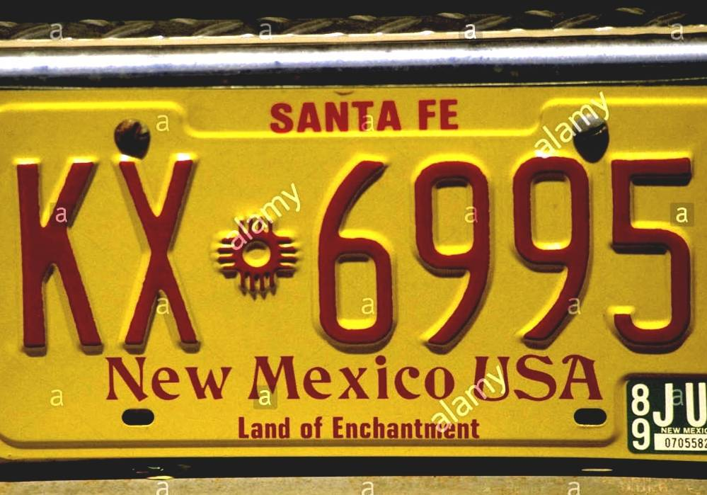 New Mexico License Plate Registration - Best Plate 2018