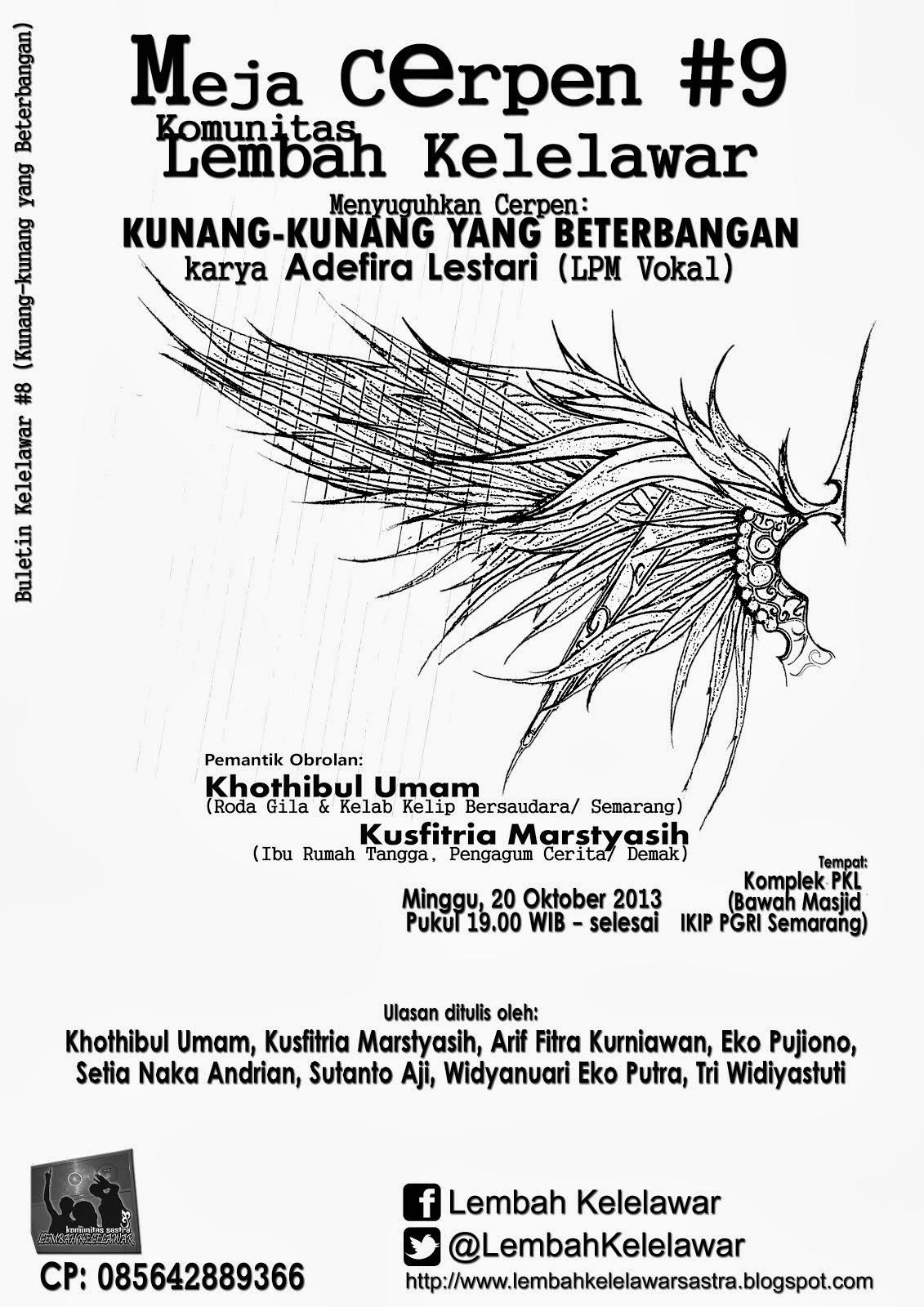 Buletin Kelelawar #8 (Kunang-kunang yang Beterbangan)