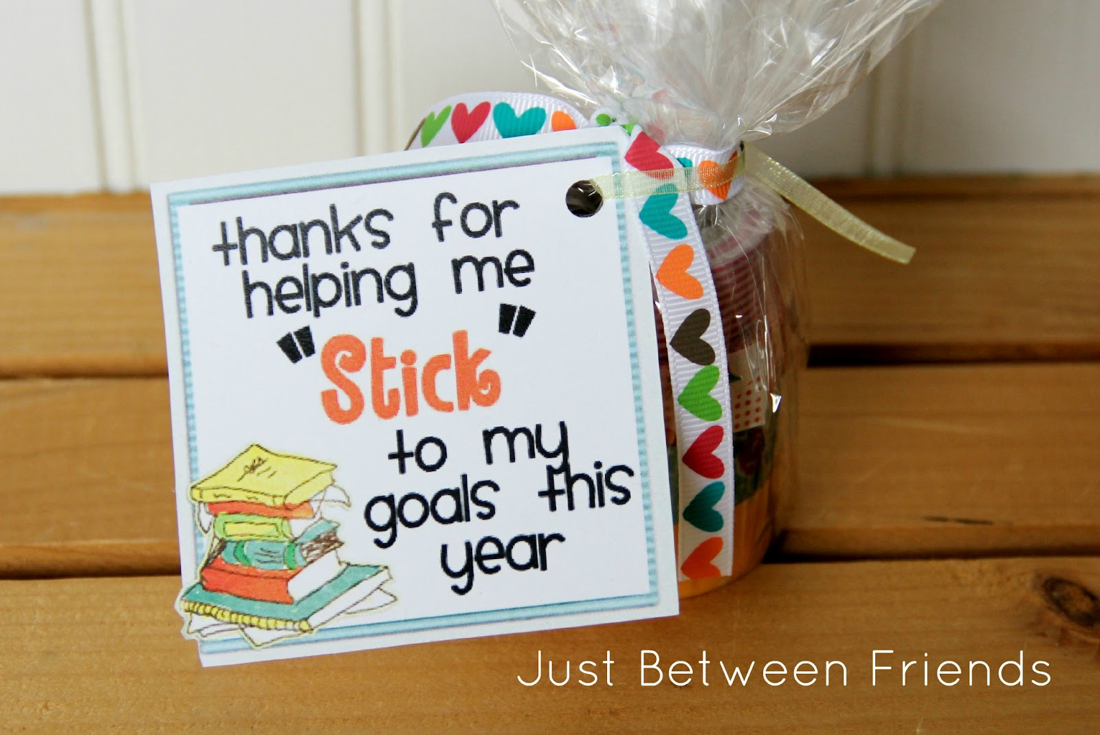 Teacher appreciation gift idea just between friends Gifts to show appreciation to friend