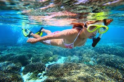 Buceando en las Barbados