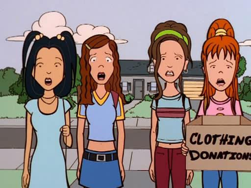 Daria (MTV) Temporada 3 Capítulo 2 - La Bella Y Los Viejos (Español