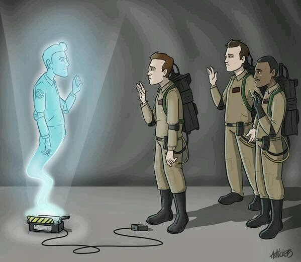 RIP Harold Ramis Ghostbusters Drawing Ashley Vickers artist