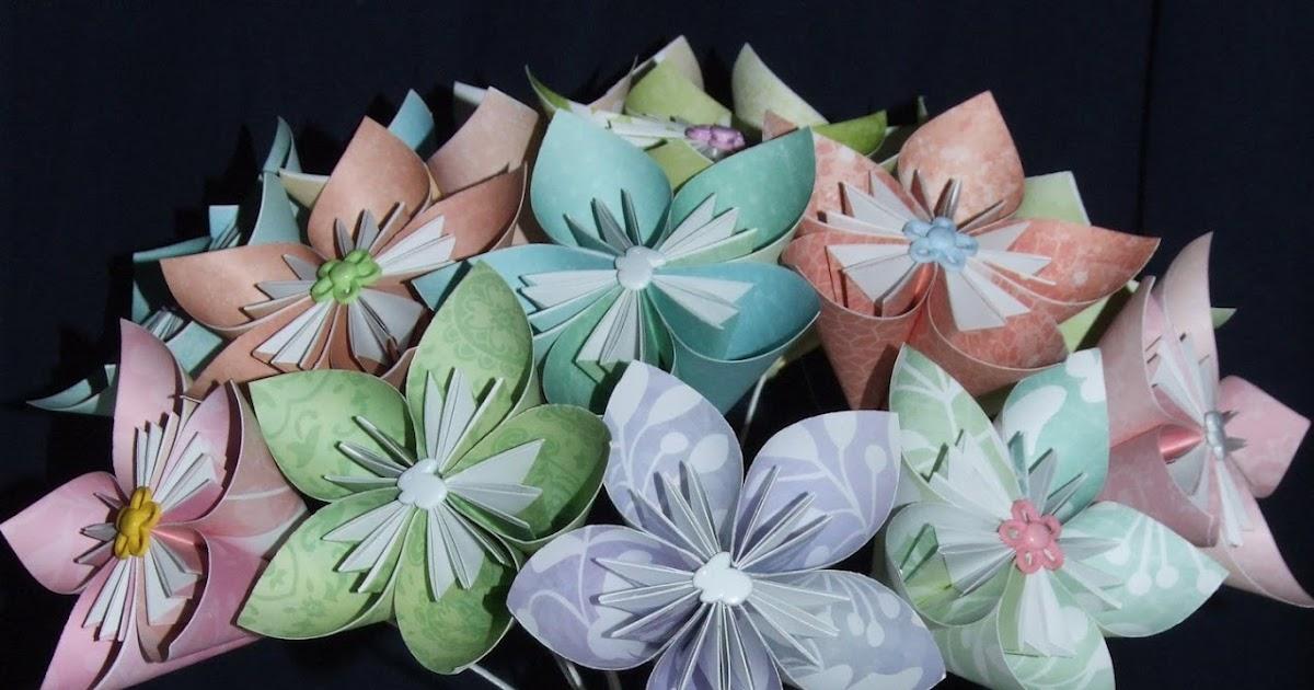 Jamie\'s Craft Room: Kusudama Flower Bouquet Assembly