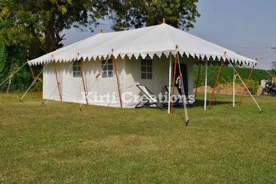Resort Tent Rental